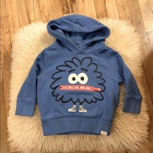 Baby Gap monster sweatshirt 12-18 months
